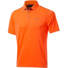 Mizuno Piquet Polo Orange Clown Fish