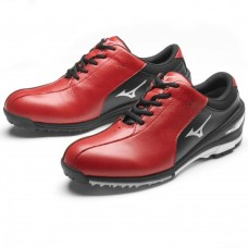 Mizuno Nexlite Red & Black golf shoes