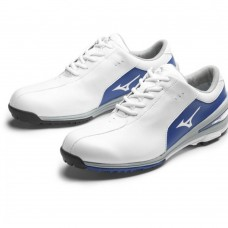 Mizuno Nexlite Gents  White Blue golf shoes